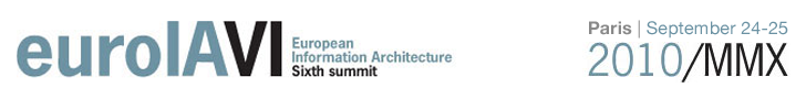 EuroIA 2010: Europe's Sixth Information Architecture Summit