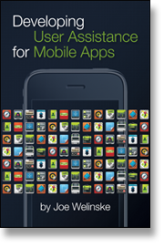 Developing User Assistance for Moble Apps cover image